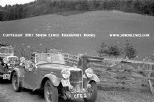 Singer (CFG 2) Leslie Macdonald Scottish Rally 1938